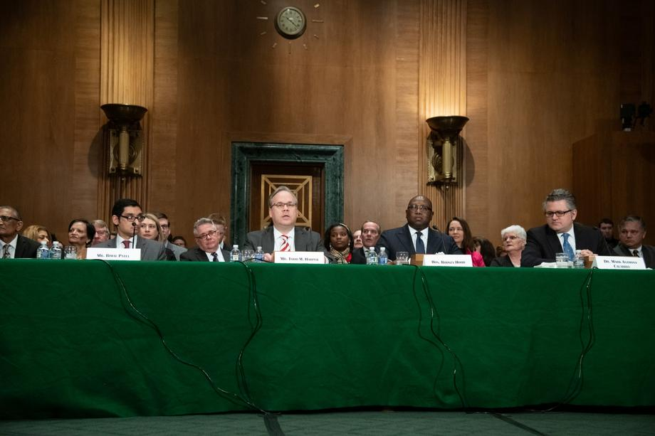 Nomination Hearing for Treasury, FHFA and NCUA Nominees