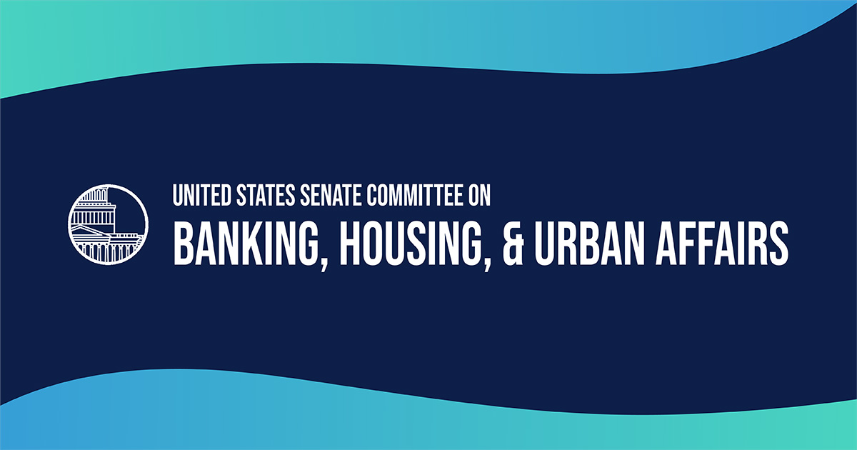 senate.gov - Fintech: Examining Digitization, Data, and Technology | United States Committee on Banking, Housing, and Urban Affairs